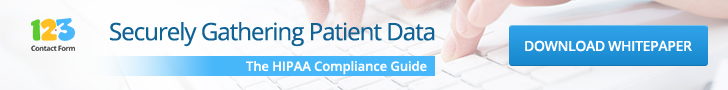 securely gathering patient data forms