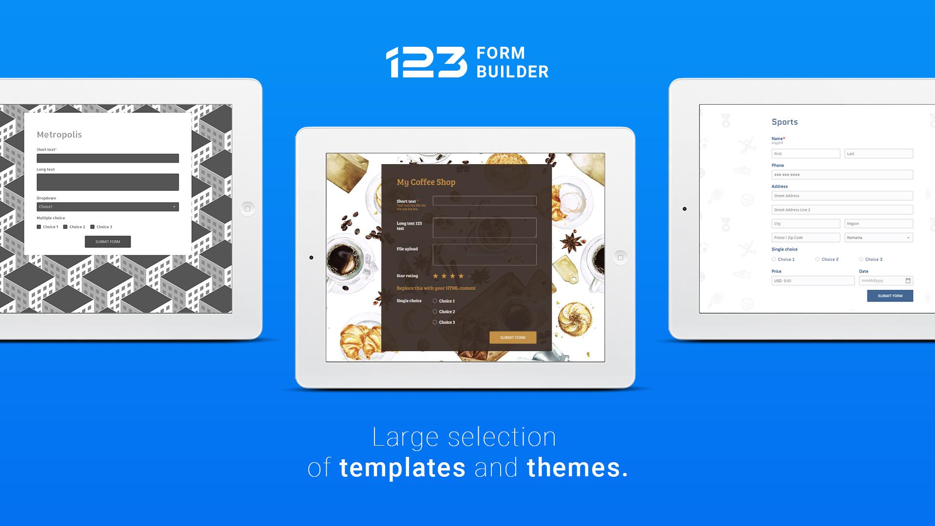 123FormBuilder web designer