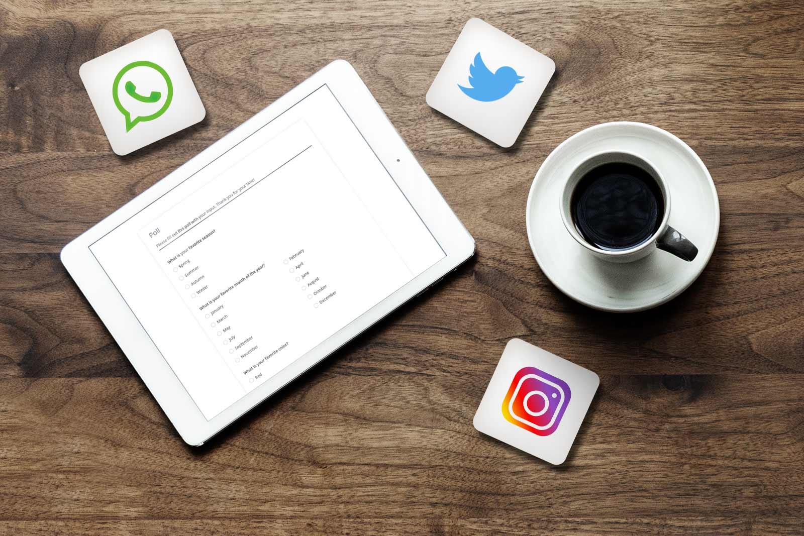 Share Polls on Social Media | 123FormBuilder Blog